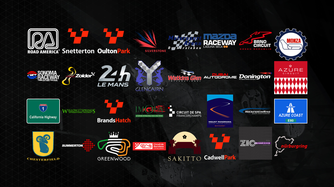 project cars liste circuits