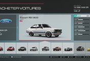 Pack IGN Forza Motorsport 5 - La Ford Escort RS 1800