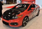 "La Honda Civic ""Forza"" au salon de Chicago 2014"