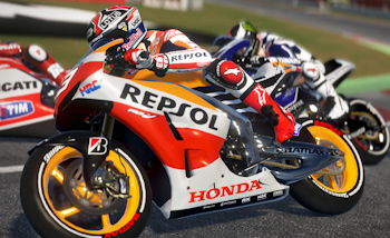 Images et replay de Moto GP 14