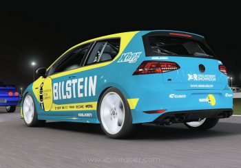 XBR Forza Motorsport Showroom - Golf R 2014 Bilstein