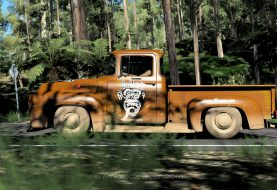 XBR Forza Horizon Showroom - Ford F100 Rat Style Gas Monkey Garage