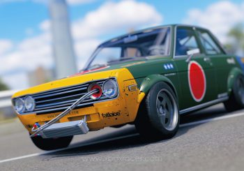 XBR Forza Horizon Showroom – Datsun 510 style avion de chasse