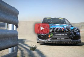 DiRT 4: Replay en Ford Focus RS RX sur le circuit Rallycross de Montalegre