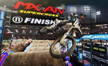 MX vs ATV Supercross: Copper Canyon se montre en une (grosse) image