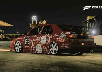 XBR Forza Motorsport Showroom - Alfa Romeo 155 DTM Tag Heuer