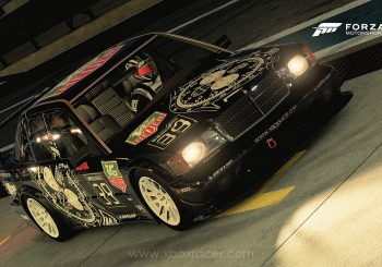 XBR Forza Motorsport Showroom - Mercedes 190E Evolution II Tag Heuer