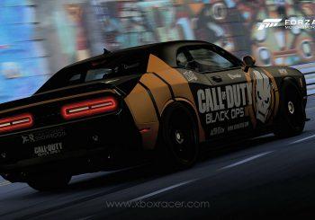 XBR Forza Motorsport Showroom – Dodge Challenger STR Hellcat Call of Duty Black Ops III