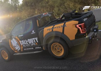 XBR Forza Motorsport Showroom – Ford F-150 Raptor Call of Duty Black Ops III