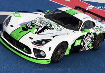 XBR Forza Motorsport Showroom – Viper GTS-R SRT Gas Monkey / Riley Motorsports