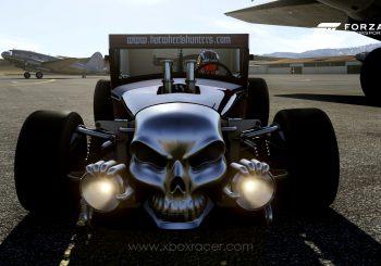 XBR Forza Motorsport Showroom - Hot Wheels Bone Shaker Super Treasure Hunt