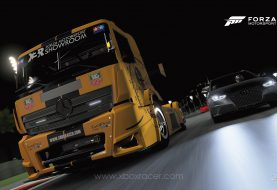 XBR Forza Motorsport Showroom - Mercedes Benz Racing Truck Tag Heuer