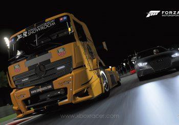 XBR Forza Motorsport Showroom - Mercedes Benz Racing Truck Tag Heuer