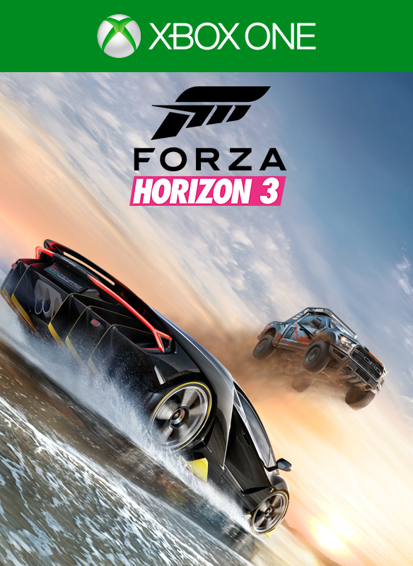 Forza Horizon 3 Digital Box Shot