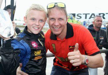 Génétique: Le fils de Petter Solberg est une brute à DiRT Rally