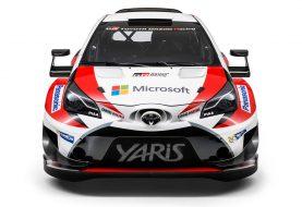 Toyota présente la Yaris WRC de 2017