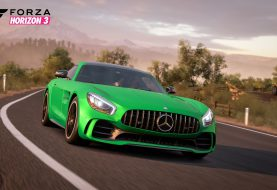 Blizzard Mountain: Un Snow Drift Challenge en Mercedes-AMG GT R
