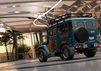 XBR Forza Horizon Showroom – Toyota FJ40 Red Bull