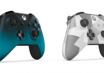 Nouveaux coloris pour les manettes sans fil Xbox One