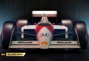 F1 2017 : Quatre nouvelles McLaren iconiques dévoilées