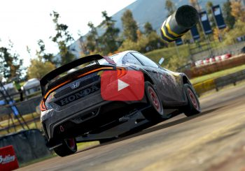 Project Cars 2 : Gameplay et replay en Honda Civic sur le circuit rallycross de Wildcrest