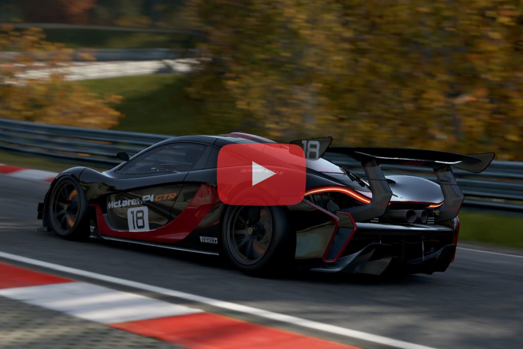Project cars 2 replay en mclaren p1 gtr sur le - Project cars mclaren p1 ...