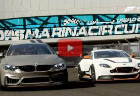 Forza Motorsport 7: BMW M4 GTS ou Aston Martin Vantage GT12?