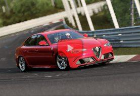 Forza Motorsport 7: Alfa Roméo Giulia QV au Nordschleife