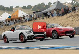 Forza Motorsport 7: Mazda MX5 ou Fiat 124 Spider?