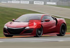 Comparaison Forza 7/Project CARS 2: L'Acura NSX à Road America