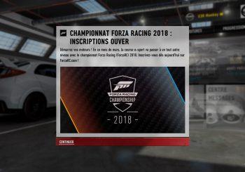 Quelques détails sur le Forza Racing Championship de 2018
