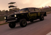 XBR Showroom : Chevrolet Bel Air gasser Mooneyes