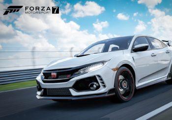 Forza 7: Honda Civic Type R gratuite et mise à jour de mai!