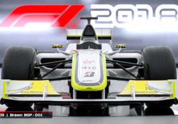 Une Brawn et une Williams en bonus dans l'édition Headline de F1 2018