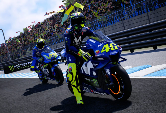 Test de Moto GP 18 sur Xbox One X