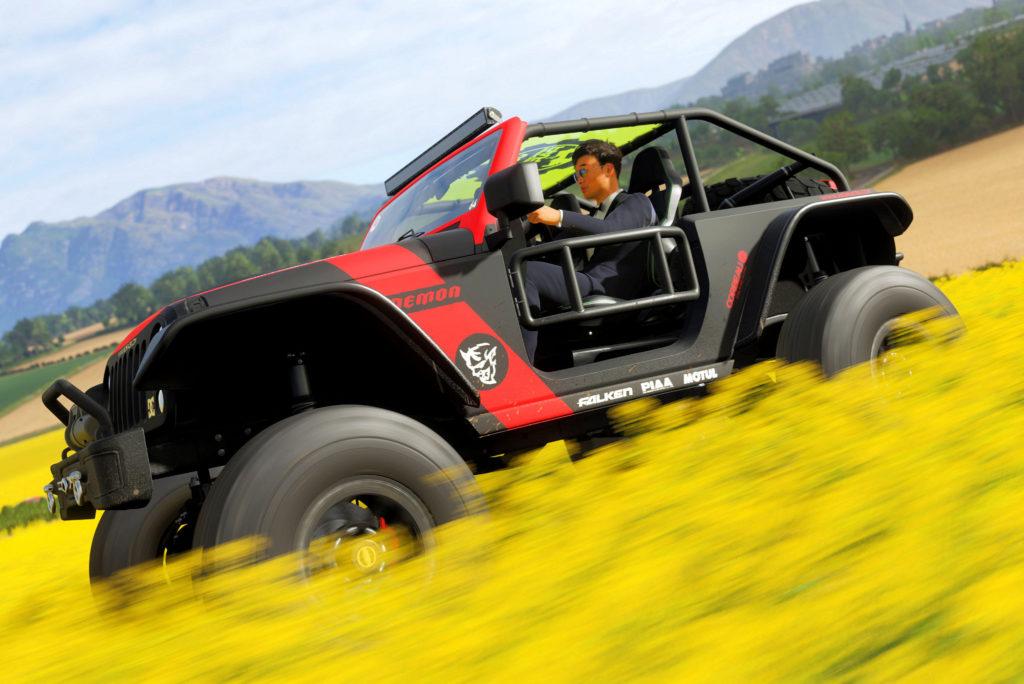 Showroom Forza Horizon 4 : Jeep Trailcat Demon | Xboxracer.com